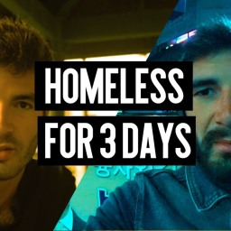 Living like a homeless for 3 days in Los Angeles